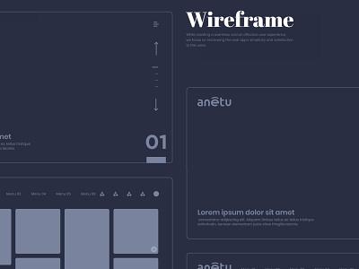 Anetu Wireframe