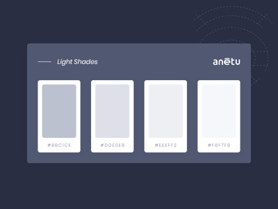 Anetu Wireframe & Style Guide