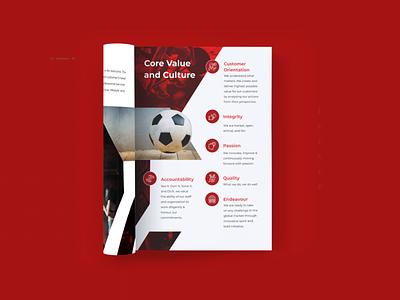 Sportasia | Sports Company Profile | Corporate Brochure