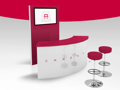 Car Trading Company Stationery Complete Branding for CAREST beawesome