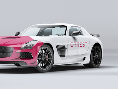 CAREST - Complete Branding for Car Trading Company beawesome