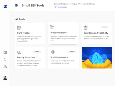 SEO Tools All tools Page