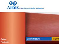 Artoz Website mit SAP-Verbindung