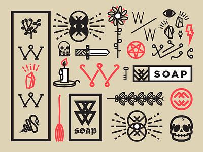 Witchy Washy Flash Sheet soap occult washy witchy john h ratajczak