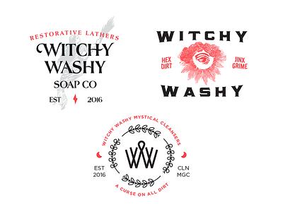 Added Witch branding soap logo witch john h ratajczak