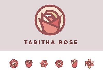 Tabitha Rose pink flower branding rose