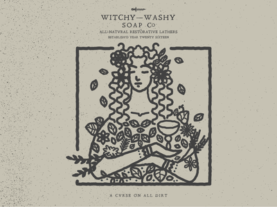 Demigoddess ceres goddess soap identity branding witch