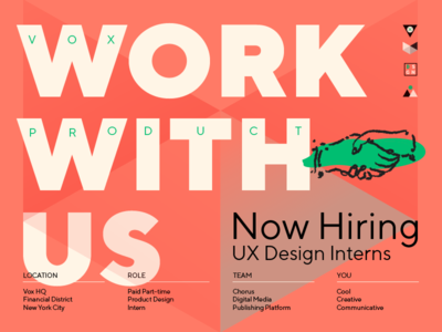 Be Our Intern! jobs hiring intern
