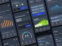 IoT energy consumption dashboard