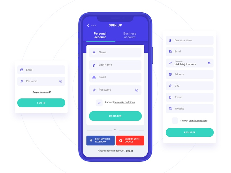 Wage App - Sign Up