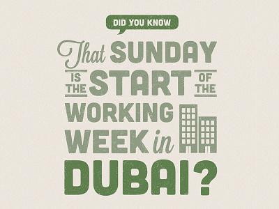Expedia - Travel Yourself Interesting - Dubai type typography advertisement press expedia tyi ogilvy