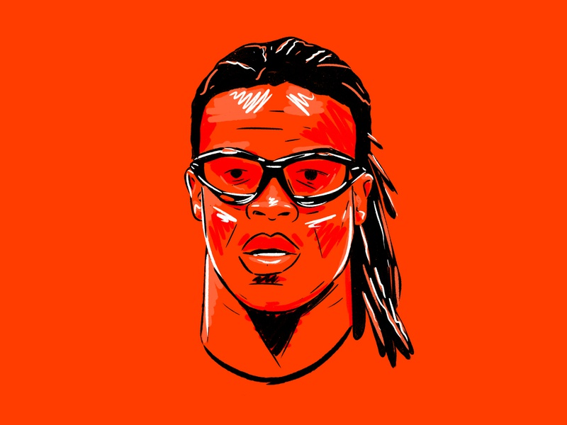 Davids graffiti streetart art design football illustration netherlands holland davids