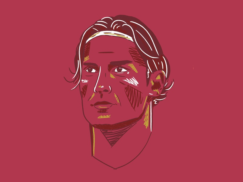 Kind of Rome sport design football illustration seriea italy rome roma