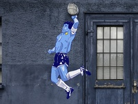 Hand of God puma design sport football illustration streetart graffiti argentina world cup maradona hand of god