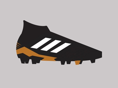 Adidas Predator 18+ graphic design predator illustration vector shapes minimal adidas