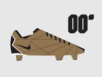 00' Nike Match Mercurial minimalist Illustration