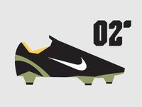02' Nike Mercurial Vapor minimalist Illustration