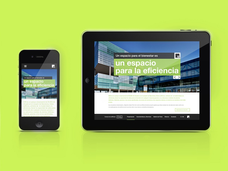 D38 Web Design web rwd responsive web design responsive tablet mobile smartphone architecture
