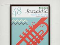 Poster Design: 48 Heineken Jazzaldia - 2013