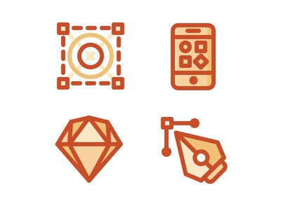 Uipie icons flat style ui kits set site icons vector ai ui sketch pie