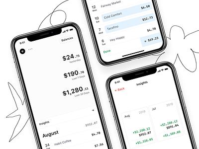Introducing Rollie rollie spending tracker fintech finance iphone app
