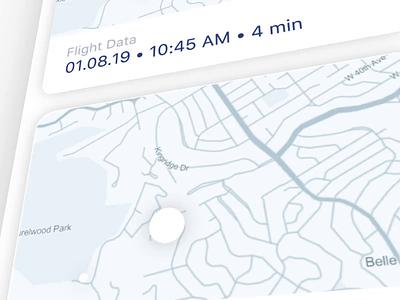 DIY Drone Kit Interface animation map ux mobile ui navigation diy interface drone