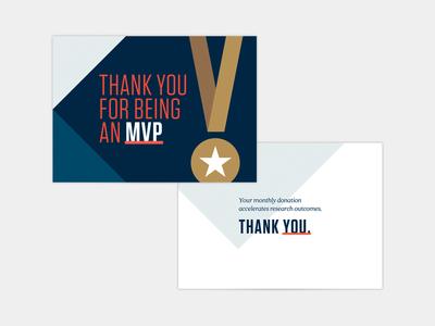 MVP Thank You Card