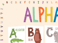 Classroom Poster Alphabet