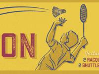 Badminton Dude!