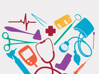 Student Outreach Clinic Logo clinic medical business cards letterhead branding logo