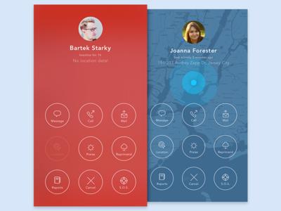 Tracker tracking tracker timeline tabs photos ocr navigation map gps ios app