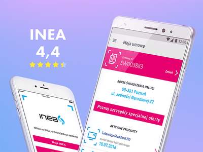 Inea ux moveapp ui design app ios inea
