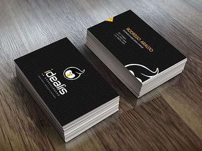 Idealis Card logo card business brand