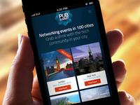 Pub Summit responsive site