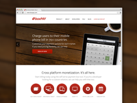 Mobile payments website