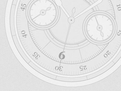 Timeline clock milestones timeline illustration