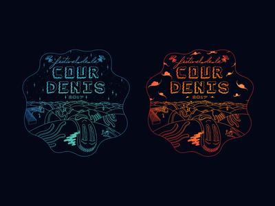 Cour Denis 2017 - Wavvvy Badges