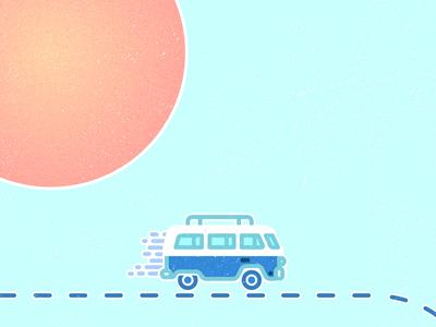 the Good Measure tour - VW Bus