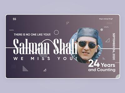 Remembering Salman Shah actor bangla legend salman shah memorial memorial dhaka movie salman shah hero design exploration design uidesign