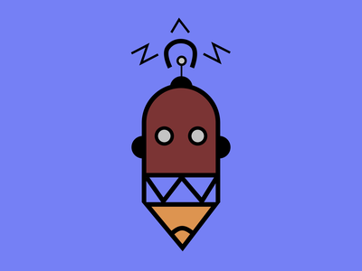 rOBOT🤖 illustration logo vector design