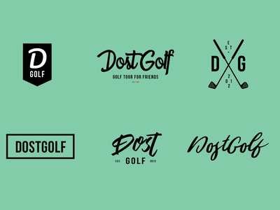 Dost Golf Brand Mark Concepts