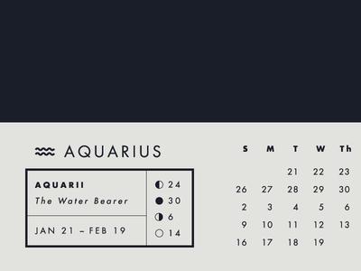 2014 Astrology Calendars