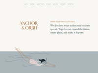 Anchor & Orbit Website