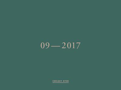 09—2017 Mixtape