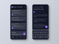 Dream Log App Concept