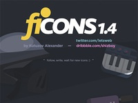 120 free f icons by shizboy
