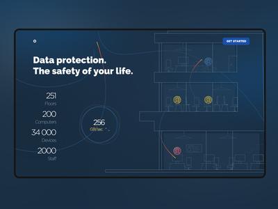Nova Estate Data design landingpage ui uidesign ux uxdesign website data estate fashion
