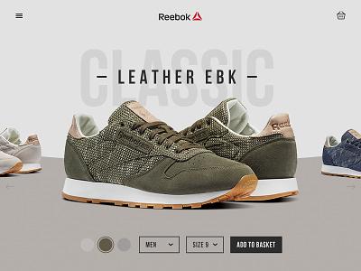 Reebok Classic - Concept sport reebok ui concept page shop store shoe trainer