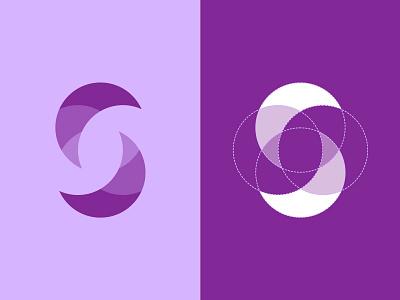 S letter exploration logotype logomark brand icon monogram logo s