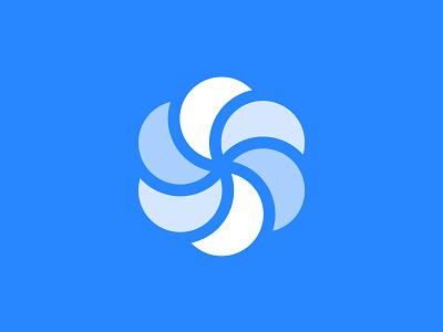 'S' Coin mark money coin logomark brand icon monogram logo s